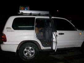 Vehículo a Cartí. 5:00am