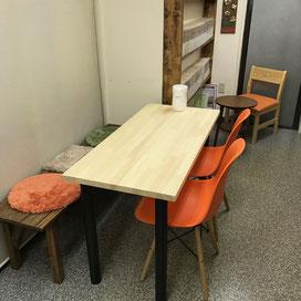 赤松集成材の自作テーブルカウンター