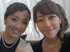 綾子 前コーチ & 愛子コーチ