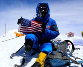 Charlie Linville Marine Climbs Everest