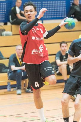 Max Emde für die TGO mA-Jugend. Foto: Hans-Peter Oberneder