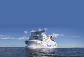 """Die """"Stena Saga"""" fuhr seit 1994 zwischen Frederikshavn und Oslo. Foto: Stena Line/PR"""