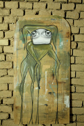 Street Art Bild von My Dog Sighs