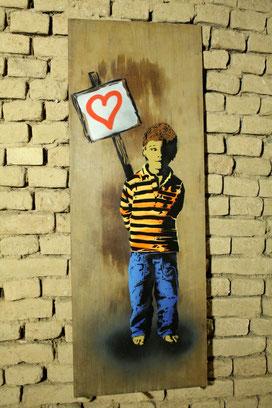 Street Art Bild von Auweia aus Leipzig.