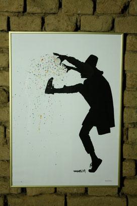 Street Art Bild von Kenny Random aus Italien.