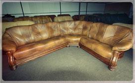 Дешевий кутовий диван зі шкіри
