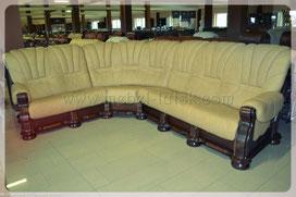 Купити шкіряний диван кутом