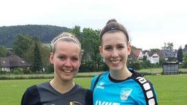 Corinna und Katja Kreylos im Schwesternduell