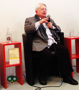 Herausgeberin Helga Grebing auf der Frankfurter Buchmesse