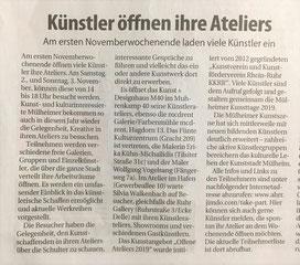 Mülheimer Woche vom 26.10.2019