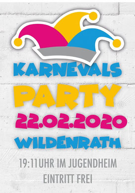 Karnevals Party Wildenrath 2020