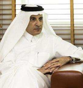 Al Bakar is oneworld's new Chairman. Image: Qatar Airways