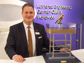 Lufthansa Technik's 'Falcon Master' is part of our long-term innovation strategy, states Peter Isendahl  /  company courtesy