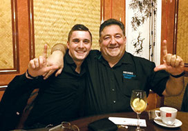 Pol Risch  und Claude Simon