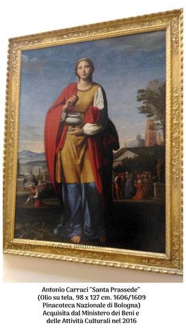 Antonio Carraci_Santa Prassede_L'Ultimo Vermeer_La Santa Prassede_Appunti d'Arte di Tamara Follesa