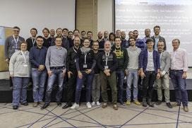 Gruppenfoto der Teilnehmer von der 4. DeafIT Konferenz 2017 in Frankfurt am Main