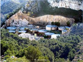 Usine de traitement des boues de Cayolle : Un des trois sites du complexe Géolide