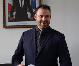 Jordane Beauchard est candidat à sa succession, pour l'élection municipale du 15 mars prochain.