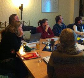 Brainstorming in Altleiningen