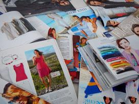 Modezeitschriften & Kataloge - die perfekte Bildquelle für Deine Stil-Collage