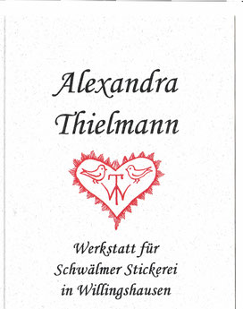 Logo Stickwerkstatt Alexandra Thielmann