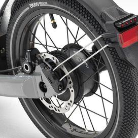 BMW X2CITY Rear Hub Engine