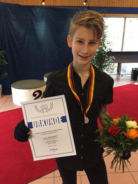 Louis Weissert startete leider nicht beim Deutschlandpokal und den Landesmeisterschaften