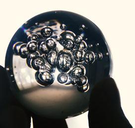 Just a glassball.