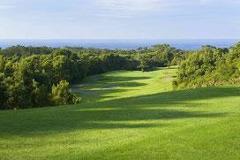 Blick vom Abschlag der 6B des Batalha Course - © Azores Golf, Allan Bradley