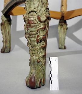 Endzustand | Sesselbein verlängert um 3 cm