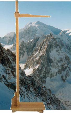 La hauteur des montagnes