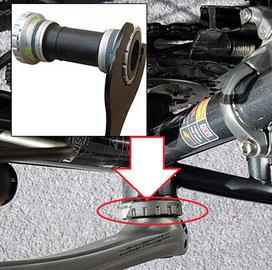 gestempelt mit dem Schlüssel für die BSA-Box