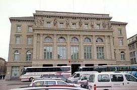 Das Hauptgebäude der BEKB am Bundesplatz.