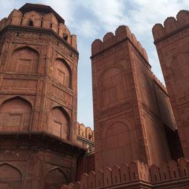 Red Fort Neu Delhi Indien