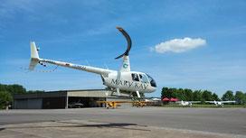 Im Hubschrauber mitfliegen und Gutes dabei tun