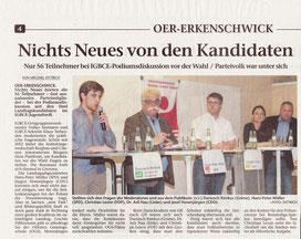 Artikel in der Stimberg Zeitung vom 8.5.2017