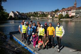 Rheinuferputzete / Clean-Up-Day September 2021. (Foto Fotograf IGSU)