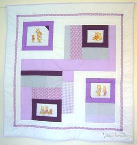 Création patchwork candice abracadapatch