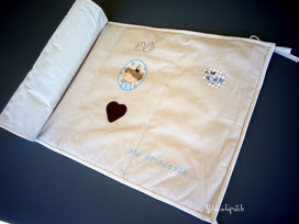 création tour de lit collection petit prince abracadapatch