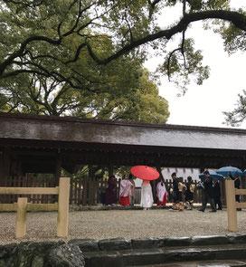 熱田神宮での神前挙式