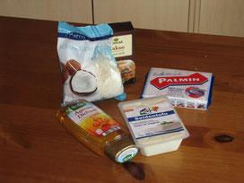 Schoko-Creme - Zutaten