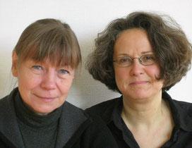 rechts, zusammen mit Brigitte Beier (© Peter Schöffer)