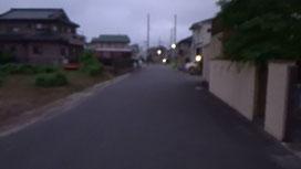 午前4:50、日の出を見るぞ!