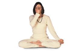 Nadi shodhana Wechselatmung Pranayama Yoga