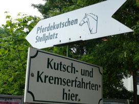 Pferdekutschen-Stellplatz