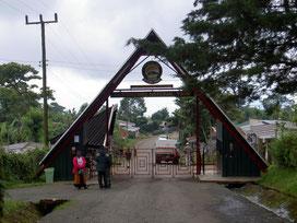 Entrance Kilimanjaro National Park