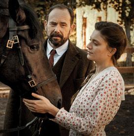 Olivier Gourmet et Georgia Scalliet: vont-ils s'aimer? (©Metropolitan FilmExport).