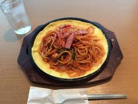 名古屋飯の「あんかけ鉄板スパゲッティ」。これが意外とうまいんだがや。