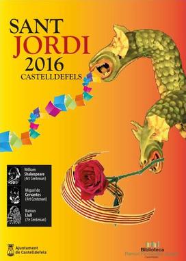 Fiestas en Castelldefels Sant Jordi