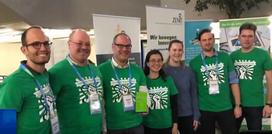 Das Gewinner-Team beim Cross4Health Hackathon in Bochum